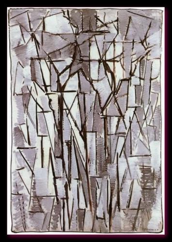 Composition d'arbres II 1912 Gemeentemuseum, the Hague Pays Bas