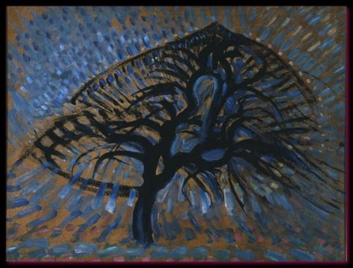 Pommier pointilliste 1908-1909 Dallas Museum of Art