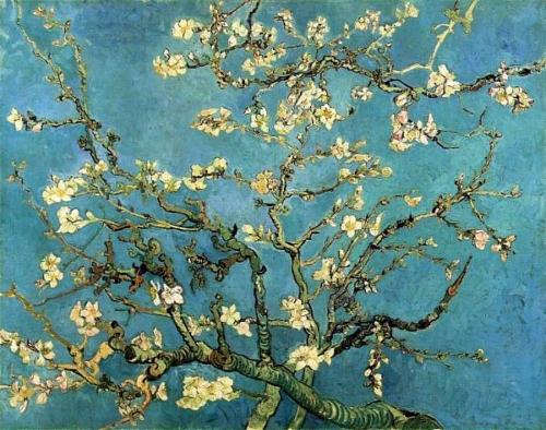 Branches et bourgeons d'amandier 1890 VAN GOGH