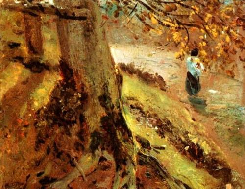 Etude de troncs d'arbres 1821 CONSTABLE