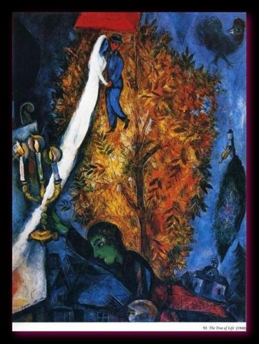 L'arbre de vie 1948 Chagall