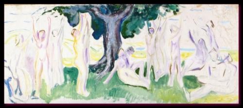 L'arbre de vie Munch Musée Oslo 1910
