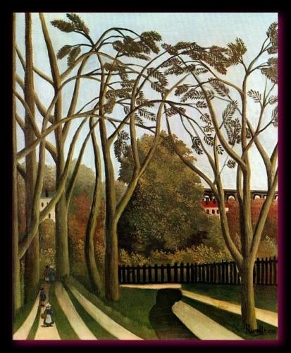 Le printemps dans la vallée de la Bièvre 1904 Rousseau MET New York